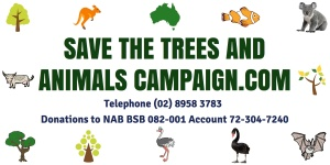Save The Trees And Animals Banner_v5